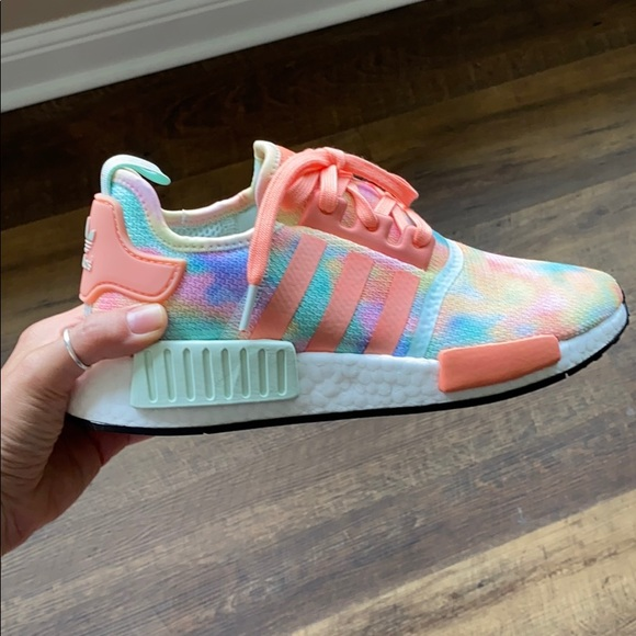 Adidas Tie Dye NMD R1 size 9